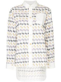 рубашка с принтом  Marni