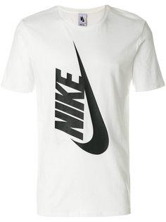 футболка с принтом логотипа Nike