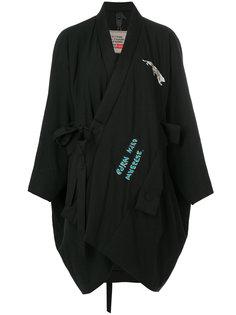 асимметричное пальто свободного кроя Bernhard Willhelm