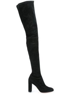 ботфорты на высоком каблуке Oscar Tiye