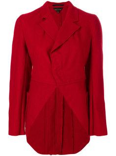 asymmetric fitted coat Comme Des Garçons