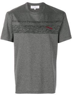 футболка с принтом логотипа Salvatore Ferragamo