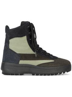 ботинки в стиле милитари Yeezy