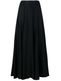 длинная юбка в складку Khaite