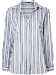 рубашка в полоску Jil Sander Navy