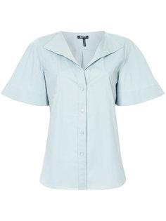 рубашка с широкими короткими рукавами Jil Sander Navy