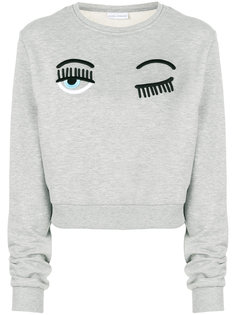 свитер с вышивкой Flirting Chiara Ferragni