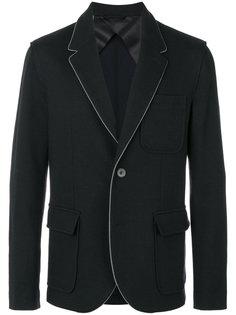 пиджак с контрастной окантовкой Lanvin