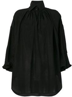 рубашка с широким воротником на пуговицах Etro