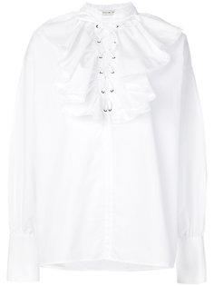 рубашка с пышным воротником Etro