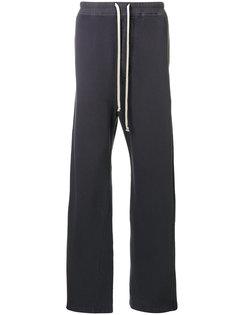широкие спортивные брюки Rick Owens DRKSHDW