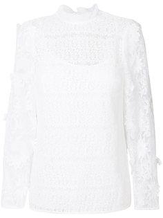 кружевная блузка  Michael Michael Kors