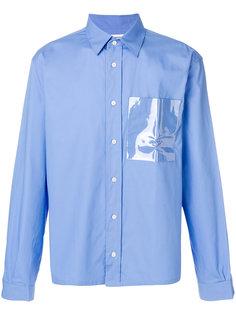 рубашка с нагрудным карманом Gosha Rubchinskiy ГОША РУБЧИНСКИЙ