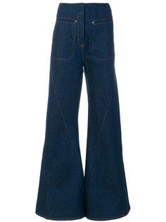 джинсы клеш с завышенной талией  Esteban Cortazar