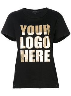 футболка Your Logo Here Marc Jacobs