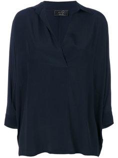 блузка с воротником  Ki6