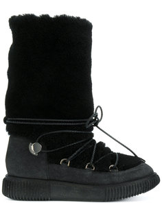 зимние ботинки Moncler