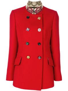 пальто с декоративными пуговицами Dolce & Gabbana