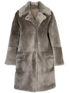 двухстороннее пальто из овчины Sylvie Schimmel