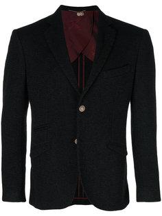 приталенный пиджак на пуговицах Maurizio Miri