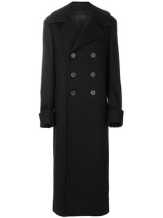 длинное двубортное пальто Haider Ackermann