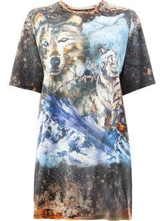 футболка свободного кроя Wolf Balmain