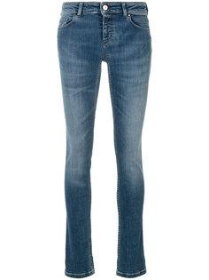 джинсы скинни с заниженной талией  Emporio Armani