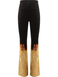 брюки с завышенной талией Fire Balmain