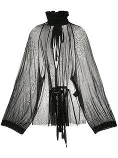 полупрозрачная блузка Ohara Ann Demeulemeester