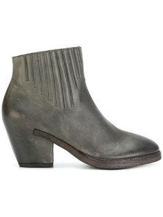 ботинки с отделкой Del Carlo