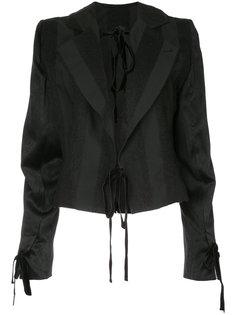 пиджак с лентами Carlyle Ann Demeulemeester