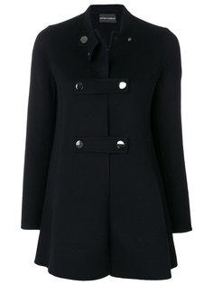 пальто на пуговицах Emporio Armani