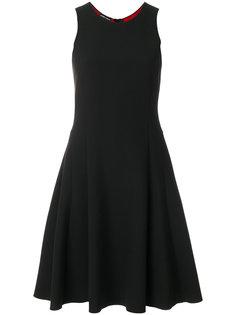 приталенное расклешенное платье Emporio Armani