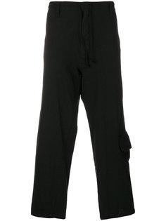 укороченные брюки Yohji Yamamoto