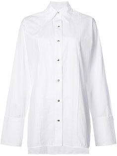 """поплиновая рубашка кроя """"оверсайз"""" Helmut Lang"""