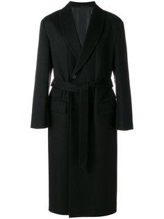 пальто с поясом Wooyoungmi