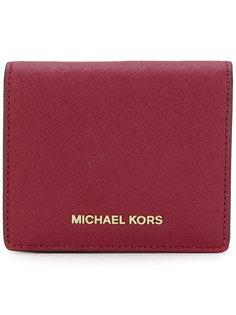 кошелек Jet Set с фирменной бляшкой Michael Michael Kors
