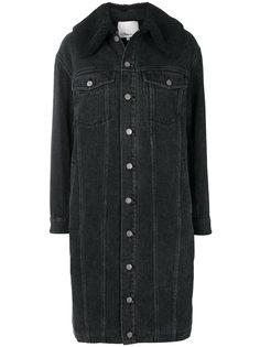джинсовое пальто на пуговицах 3.1 Phillip Lim