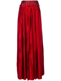 длинная юбка в складку Maison Margiela