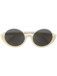 круглые солнцезащитные очки Marni Eyewear