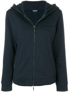 куртка на молнии с капюшоном Armani Jeans