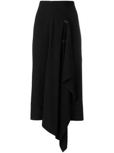 асимметричная юбка-миди Marni