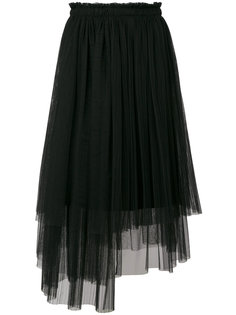 юбка-миди из тюля MSGM