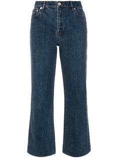 укороченные брюки клеш  A.P.C.