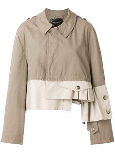 свободная куртка колор блок  Erika Cavallini