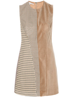 панельное платье-шифт Stella McCartney