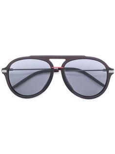 солнцезащитные очки-авиаторы в толстой оправе Fendi Eyewear