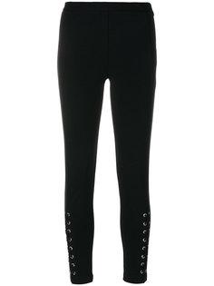 брюки скинни со шнуровкой Michael Michael Kors