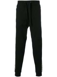 спортивные брюки с логотипом Dirk Bikkembergs
