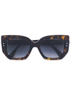 объемные солнцезащитные очки в квадратной оправе Fendi Eyewear